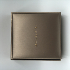 Bvlgari Necklace Luxury Jewelry Box With Gold Color Wire Handbag