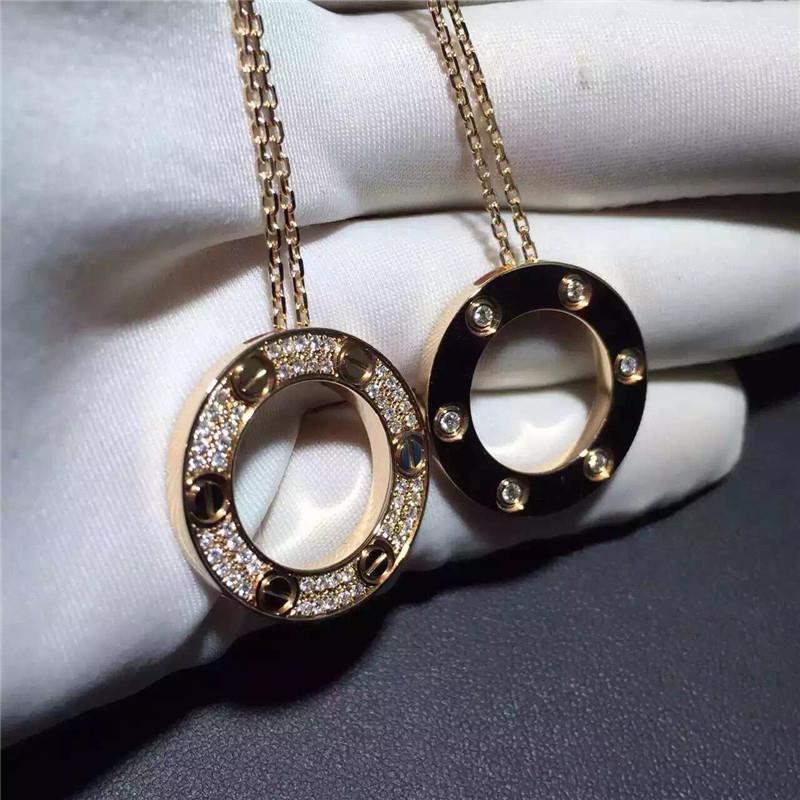 8fce9f30e120 Cartier Love Necklace 18K Yellow Gold