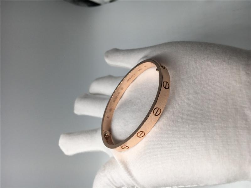 Pink Gold Luxury Diamond Jewelry Cartier Love Bracelet B6035617 ...