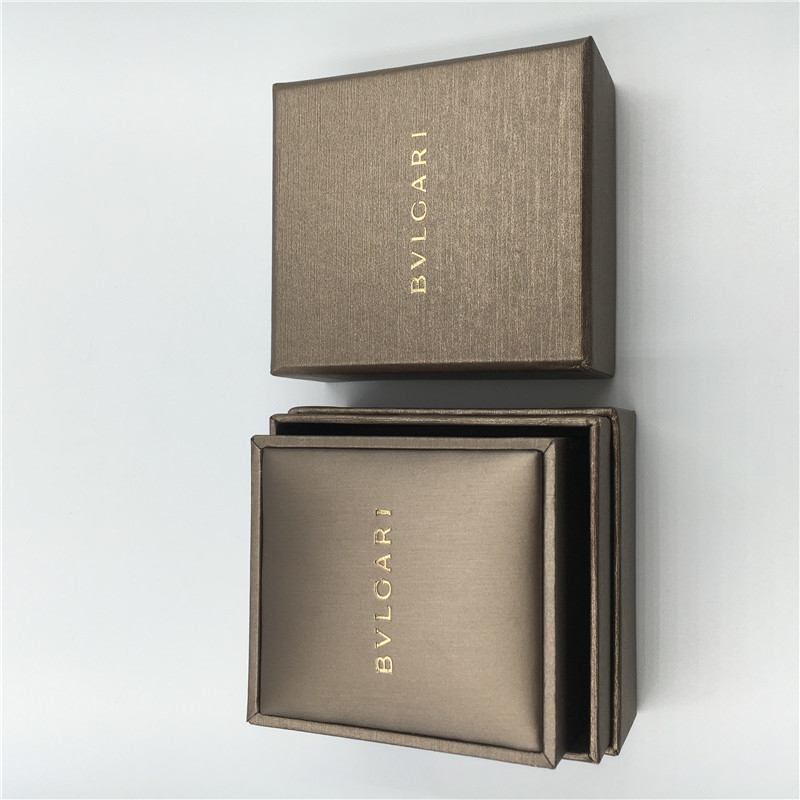 Bvlgari Ring Box Gold Color Customized Design Personalised Wedding